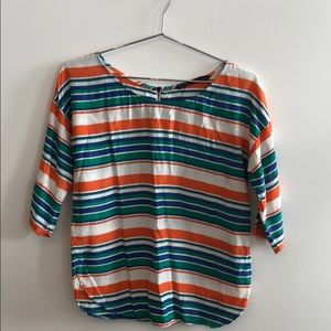 Multi colored blouse
